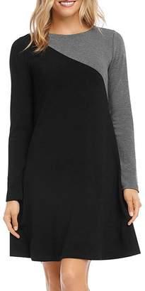 Karen Kane A-Line Color-Block Dress