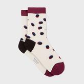 Paul Smith Women's Aran 'Shadow Spot' Socks
