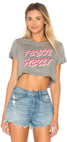 Clayton x REVOLVE Teen Heat Cropped Tee