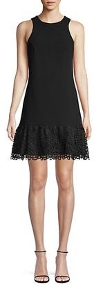 Trina Turk Lace A-Line Dress