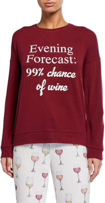 PJ Salvage Evening Forecast: 99% chance of wine Lounge Top