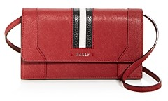 Bally Strafford Leather Convertible Crossbody