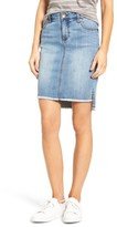 KUT from the Kloth Women's Connie High/low Denim Skirt