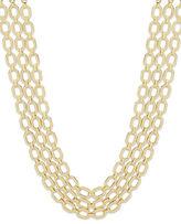 Ivanka Trump Multi-Row Chain Necklace
