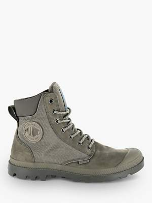 Palladium Sport Cuff Leather Boots, Fallen Rock/Bungee Cord