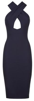 Dorothy Perkins Womens *Vesper Blue Bodycon Dress, Blue