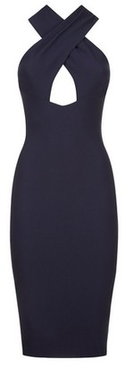 Dorothy Perkins Womens Vesper Blue Bodycon Dress, Blue