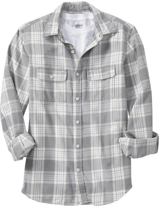 Old Navy Men's Patterned Flannel Shirts