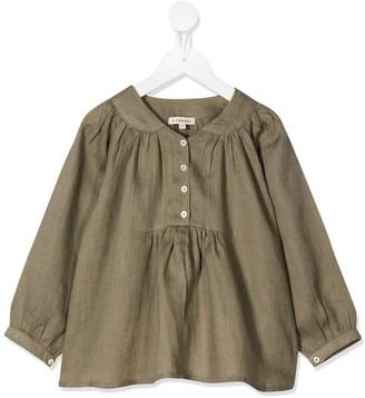 Caramel Victoria blouse