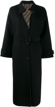 Fendi Belted Trench Coat