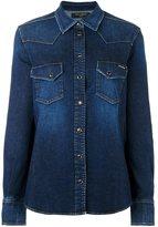 Dolce & Gabbana western denim shirt - women - Cotton/Spandex/Elastane - 46