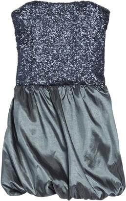 Stella M'Lia Sequin Satin Bubble Dress