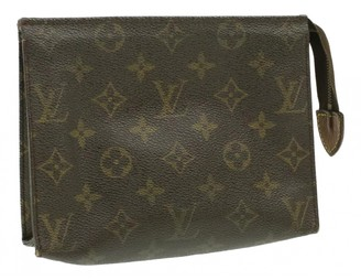 Louis Vuitton Trousse de Toilette Brown Cloth Travel bags