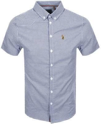 Luke 1977 Short Sleeved Jimmy Shirt Navy