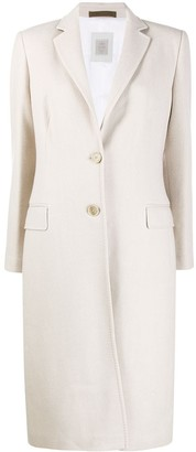 Eleventy tailored single-breasted coat