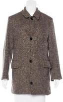 Billy Reid Wool Short Coat