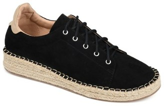Brinley Co. Womens Lace-up Espadrille Sneaker