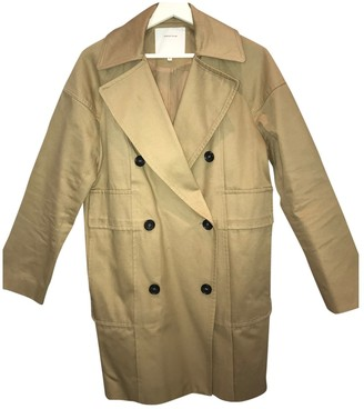 Surface to Air Beige Cotton Coat for Women