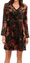 KUT from the Kloth Burnout Velvet Dress
