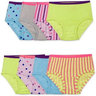 Fruit of the Loom Toddler Girl Signature 7+1 Ultra Soft Briefs