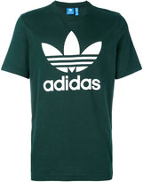adidas Trefoil logo print T-shirt