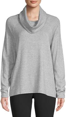 Isaac Mizrahi Imnyc Cowl-Neck Raglan Sweater