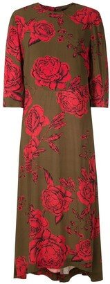 OSKLEN Rose Print Dress