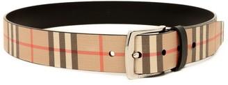 Burberry Vintage Check Print Belt