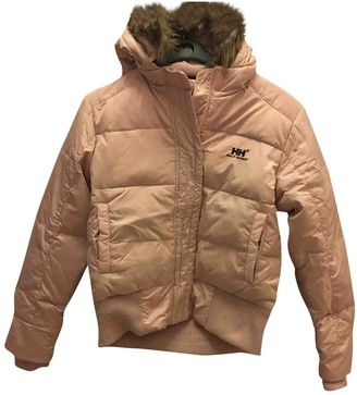 Helly Hansen Pink Synthetic Leather jackets