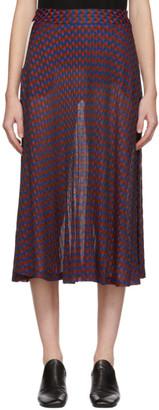 Wales Bonner Multicolor Geometric Skirt