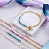 Swarovski J&S Jewellery Charm Bracelet With Glass Pearls
