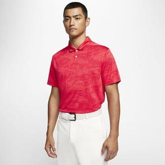 Nike Mens Camo Golf Polo Dri-FIT Vapor