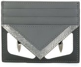 Fendi Bag Bugs cardholder - men - Calf Leather/Metal (Other) - One Size