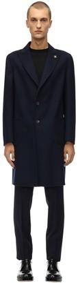 Lardini Reversible Wool Coat