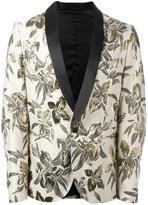 Christian Pellizzari floral pattern blazer - men - Cotton/Polyester/Acetate/Viscose - 48