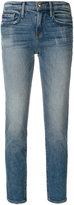 Frame cropped slim-fit jeans