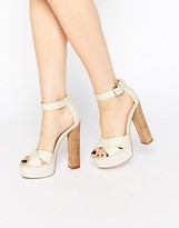 Asos TEGAN Platform Heeled Sandals