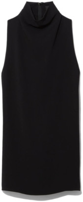 Proenza Schouler Cady Sleeveless Knotted Back Top in Black