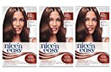 Clairol Nice 'n Easy Hair Color 119B, 5RB Natural Medium Reddish Brown 1 Kit(Pack of 3)