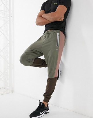 ASOS 4505 training trackies with contrast panels