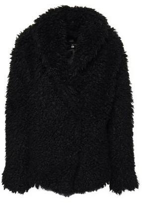Line Teddy coat