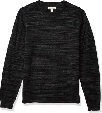 Goodthreads Amazon Brand Men's Soft Cotton Crewneck Summer Sweater