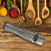 iTouchless EZ Hold Stainless Salt and Pepper Grinder