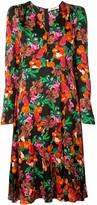 Diane von Furstenberg floral print dress