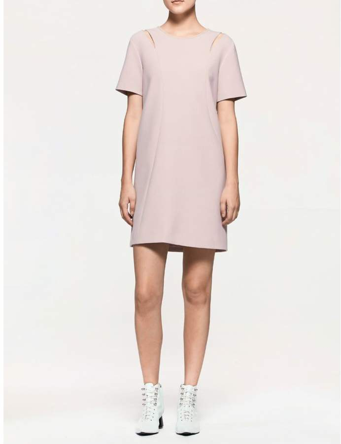 Calvin Klein platinum modern short sleeve dress
