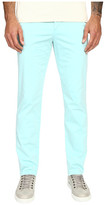 Versace Front Pleat Stretch Chino Pants