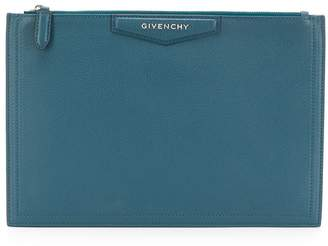 Givenchy Antigona logo clutch