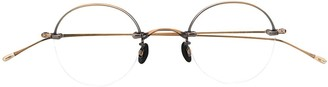 Eyevan 7285 Oval Frame Glasses