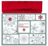 "Hortense B. Hewitt 16ct Red & Silver ""Happy Holidays"" Holiday Boxed Cards"