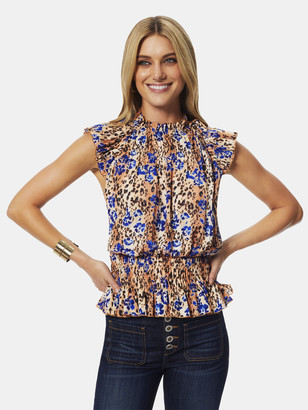 Ramy Brook Printed Amelia Top